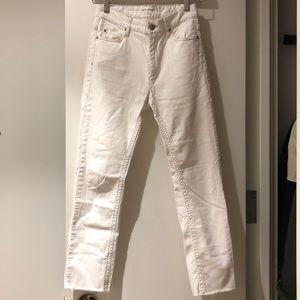 White Isabel Marant Etoile Jeans.